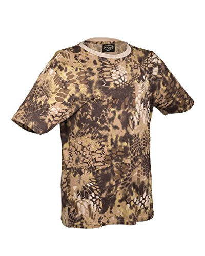 T-Shirt tarn mandra tan Gr.XL (Baumwolle Tan Shirt)