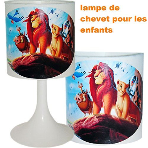 Nachttischlampe Schaffung von handwerkliche Typ Serviettentechnik der König der Löwen