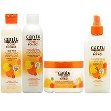 "Cantu Care for Kids Shampoo + Conditioner + Leave-in Conditioner + Detangler""Set"""