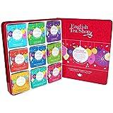 """English Tea Shop - Weihnachten Tee-Kollektion in edler Metalldose """"Red Christmas Balls"""", BIO, 72 x Teegenuss (9x8) in schöner Geschenkbox"""