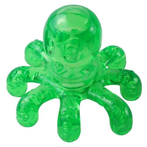 t - TOOGOO(R) Cool und Erfrischend Ruecken Nacken Schulter Arm Massage Octopus Abnehmen Massager, Farbe Random ()
