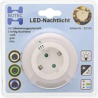 LED-Nachtlicht mit Dämmerungsautomatik 3-farbig leuchtend