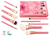Kosmetikpinsel Sakura - Original kirschrotes Expansion Brush Set - Profi Makeup Pinsel, Pinselset, Schminkwerkzeug, Schminkpinsel für den täglichen Gebrauch, Vegan und Tierversuchsfrei