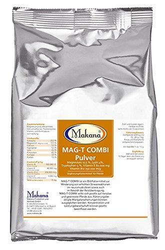 Makana MAG-T COMBI Magnesium Vitamin E Tryptophan Lysin Pulver, 500 g Beutel