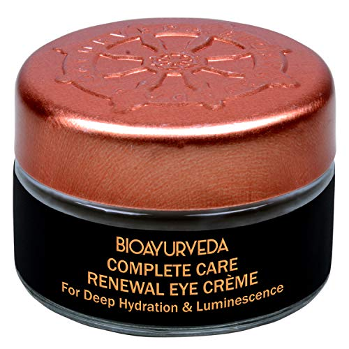 BIOAYURVEDA Eye Cream For Dark Circles and Puffiness, Eyelid Cream Helps to Crows Feet, Wrinkles & Fine Lines - 20gm