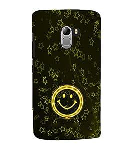 EPICCASE Golden Smiley Mobile Back Case Cover For Lenovo Vibe K4 Note (Designer Case)