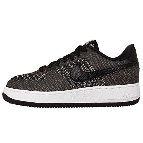 Nike Air Force 1 S 07 Kjcrd Formateur 718350 Scarpe Da Tennis Blanc Noir 100