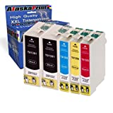 5er Set Druckerpatronen Kompatibel für Epson T1301 T1302 T1303 T1304 XL Multipack für Epson Stylus SX525WD SX620FW Office B42WD Office BX525WD Office BX625FWD Office BX925FWD Epson Workforce 525 630 Epson stylus Office BX535WD BX630FW BX635FWD BX935FWD SX535WD BX625FWD Workforce WF-3010DW WF-3520DWF WF-3540DTWF WF-7015 WF-7525 WF7515 WF-3530DTWF Patronen 5xT1301-Epson
