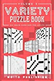Variety Puzzle Book: 100 Brain Exercises for Adults Volume 3