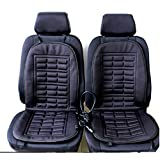 2pcs Car Seat Heating Pad Car Seat Heated Cushion Hot Cover Warmer Winter