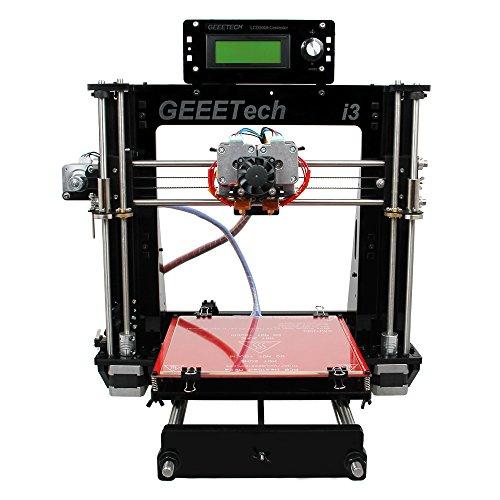 Geeetech Impresora 3D Kit de impresora acrílica 3D I3 pro C, extrusor doble, impresión a dos colores, impresora de habitación.