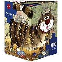 Heye 29569 - Vita da Gatti, Puzzle 1000 Pezzi, Multicolore