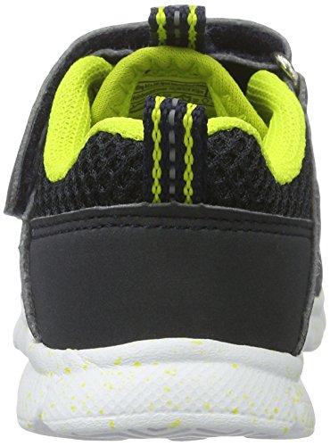 Brütting Timor Vs, Sneakers Basses Garçon Bleu (Marine/lemon)