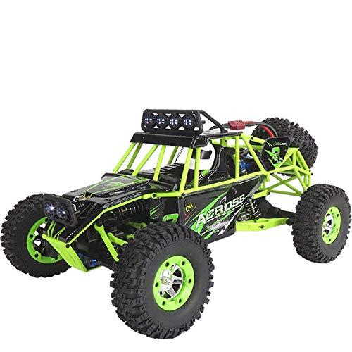 HHtoy 1:12 4WD Fernbedienung 50 km/h Hochgeschwindigkeits-Geländewagen Crawler Stunt Drifting Car 2,4 GHz RC Elektro-Buggy Truck Spielzeug for Erwachsene und Kinder Geburtstagsgeschenke