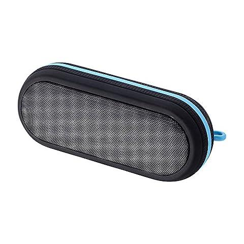Outdoor Sports rechargeable Enceinte Bluetooth étanche Connect Tif Disponible by hui Yuan Noir