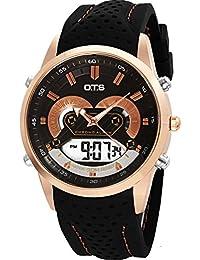 Los relojes de los hombres al aire libre impermeable relojes deportivos escalar montañas reloj multifunción de la exhibición dual-A