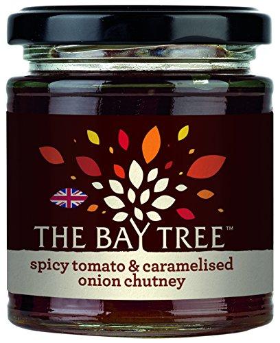 The Bay Tree Spicy Tomato und Caramelised Onion Chutney - mit Tomaten und karamellisierten Zwiebeln, 2er Pack (2 x 200 g)