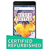 (CERTIFIED REFURBISHED) OnePlus 3T Gunmetal  (6GB+64GB)