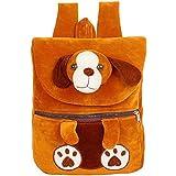 [Sponsored]Kids School Bag Soft Plush Backpack Cartoon Toy, Children's Gifts Boy Girl/Baby/ Decor School Bag For Kids (Dog Brown)