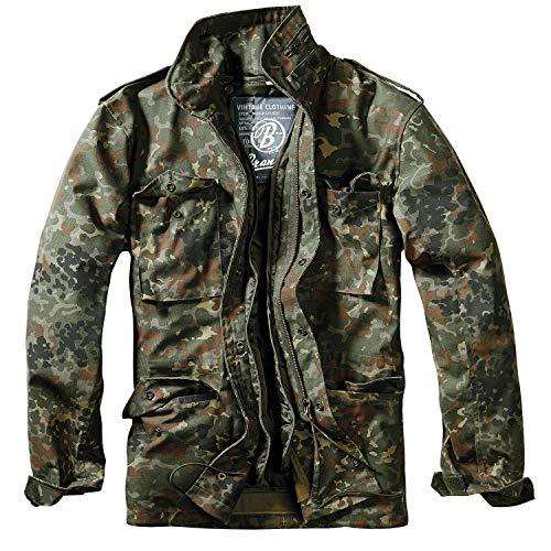 Brandit Herren M-65 Feldjacke Classic Jacke, Mehrfarbig (Flecktarn 14), Small (14 Klassische Herren Jeans)