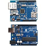 Sunfounder UNO R3 + Ethernet Shield W5100 Starter Kit For Arduino Mega2560 Mega328 Nano