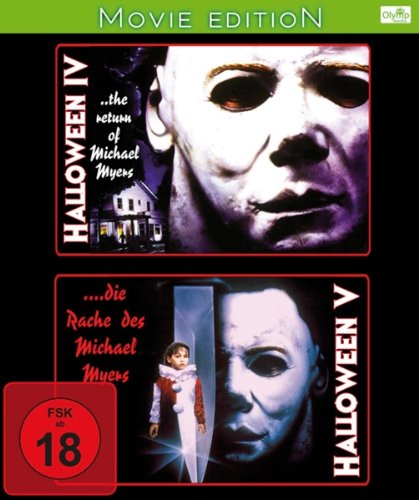 Halloween 4 + 5 - 2 Movies-Edition [Blu-ray] (Ray 5 Halloween 4 Blu)