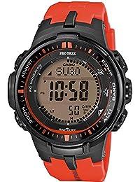 Casio Herren-Armbanduhr XL Pro Trek Digital Quarz Resin PRW-3000-4ER
