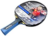 Butterfly Timo Boll Black - Pala de ping pong ( 2 mm, Timo Boll ), color rojo
