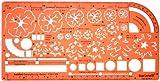 1:50 und 1:100 Schablone Zeichenschablone Gartenplanung Gartengestaltung Gartendesigns Architekt Garten Gartenpläne Gestalten Planen - Technisches Zeichnen