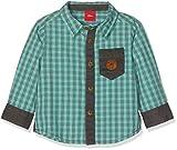 s.Oliver Junior Baby-Jungen Hemd 65.810.21.5929, Grün (Mint Check 61n1), 74