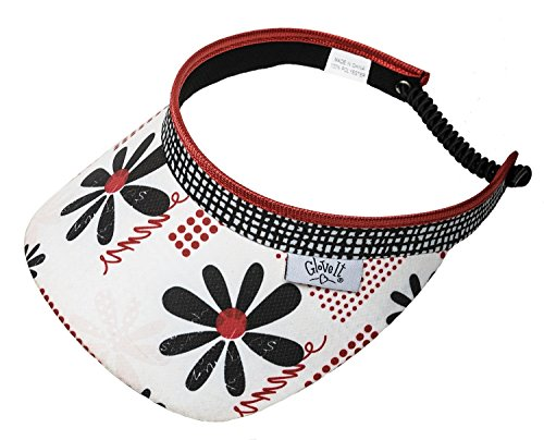 new-ladies-glove-it-daisy-script-golf-coil-visor