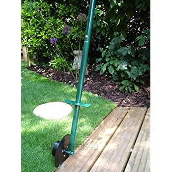 great ideas long handled lawn edger - roller cutter tool with wheel ...