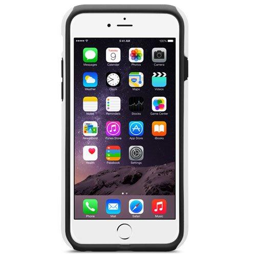 Melkco Kubalt Double Layer Case für Apple iPhone 6 weiß/schwarz Weiß/schwarz 2