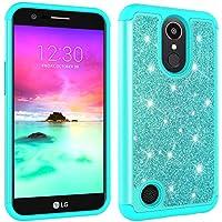 LG K10 2017 Hülle,HUDDU LG K10 2017 Hülle Glitzer Handyhülle Bling Glitter Hart PC Back Case Sparkles Luxus Hard... preisvergleich bei billige-tabletten.eu