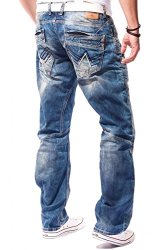 Cipo & Baxx - Jeans - Homme Bleu - Bleu