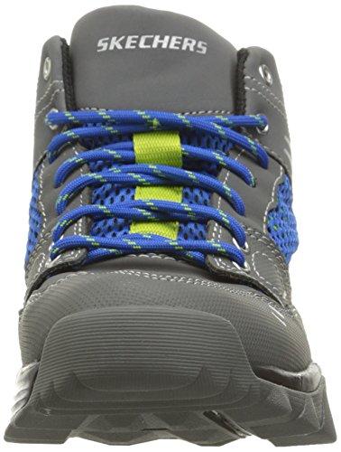 Skechers - Trail Dozer, Scarpe da ginnastica Bambino Grigio (Grigio (Char))