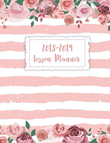 Teacher Planner 2018-2019: Teacher Lesson Planner 2018-2019, Lesson Planner and Record Book, Lesson Plan Book for Teacher With Inspirational Teacher Quotes (Daily Teacher Planner Academic) (Volume 3) por John Book Publishing