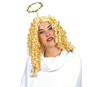 Angel In Box Wig for Hair Accessory Fancy Dress