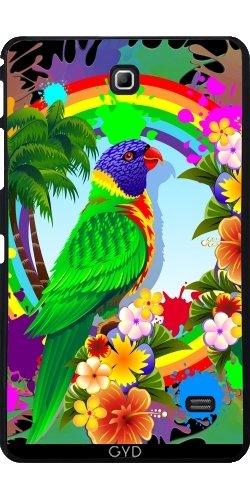 DesignedByIndependentArtists Hülle für Samsung Galaxy Tab 4 (7 Zoll) - Allfarblori Farbe Splats by BluedarkArt