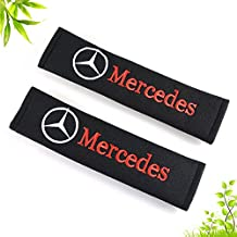 Auto schwarz G/ürtelschutz Mercedes-Benz logo OPAYIXUNGS Gurtpolster