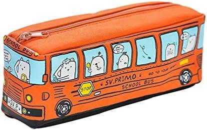 Chakil Bus Form Trousse à à à monnaie en toile avec fermeture Éclair 19.5  6.5  6cm Orange | Luxuriant Dans La Conception  c08f44
