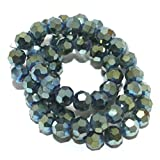 Beadsnfashion 50+ Crystal Faceted Footba...