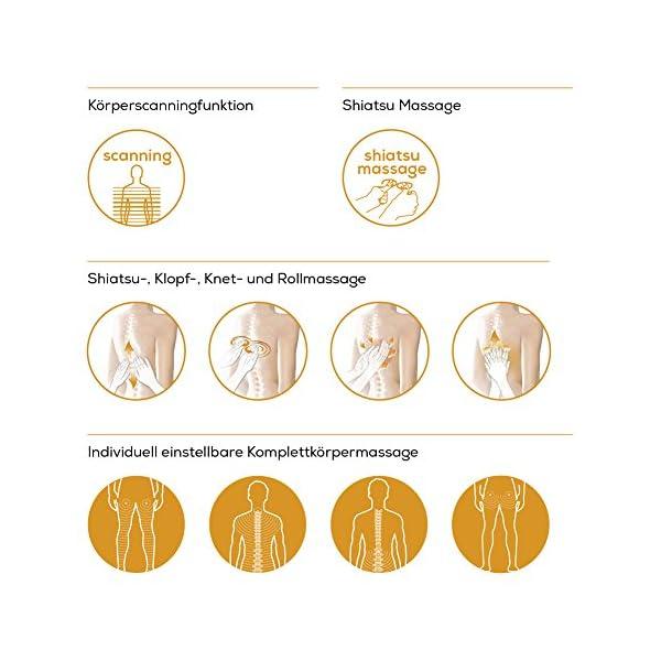 Beurer Mc 5000 Deluxe Massagesessel Automatische Fusttzerckenlehne Krper Scan Funktion Ganzkrpermassage 5 Massagearten