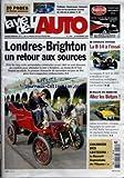 VIE DE L'AUTO (LA) [No 1246] du 30/11/2006 - LONDRES- BRIGHTON - CONDUITE VINTAGE - LA B14 A L'ESSAI - RALLYE EN ARDECHE - ALLEZ LES BELGES - LA RENAULT SUPRASTELLA DE L'ELYSEE - TURICHEIM - CHAMROUSSE - LIMONEST