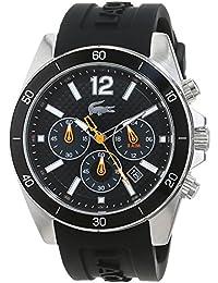 Lacoste Herren-Armbanduhr Analog Quarz Silikon 2010833