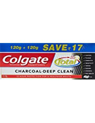 Colgate Total Charcoal Deep Clean Toothpaste - 240 g