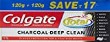#9: Colgate Total Charcoal Deep Clean Toothpaste - 240 g