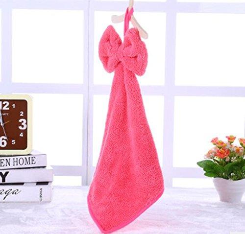 Jakerbing Neue Korallen Fleece Hand Trockenen Handtuch Geschirrtuch Super Absorbent Hängende Küche Handtuch Für Küche Bad Waschen