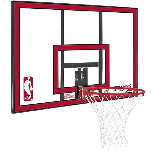 Spalding Korbanlage NBA Polycarbonat Backboard, Mehrfarbig, 44, 3001671011444