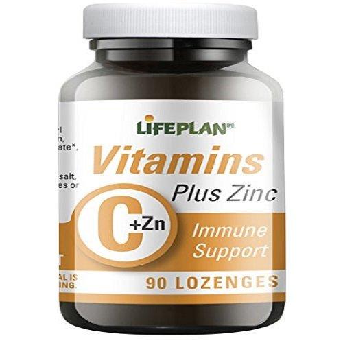 Lifeplan Vitamin C und Zink 90 Lutschtabletten (Lebensmittel, 90 Lutschtabletten)